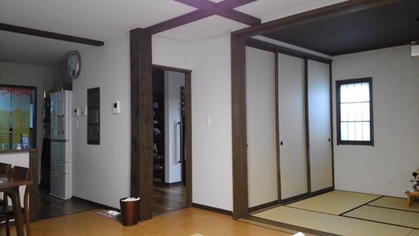 居間の写真