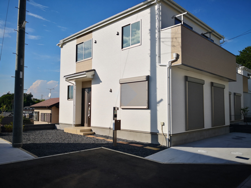 市川市に4LDKの家を購入(一建設)