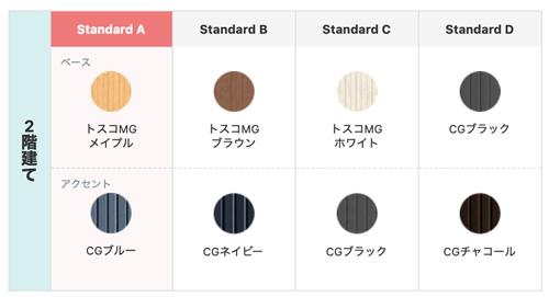 CoCoLifeの選べるカラー